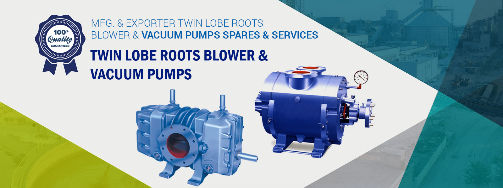 Twin Lobe Roots Blower Exporter